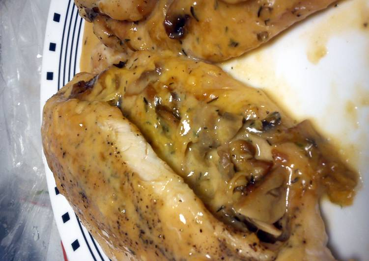 stuffed cheese baked chicken