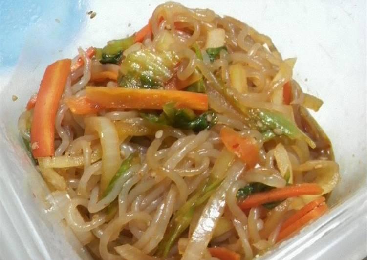 Recipe: Yummy Shirataki Noodle Japchae