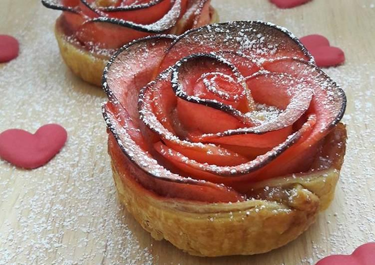 Tartelettes romantiques aux pommes