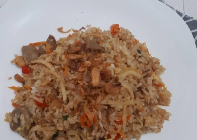 Nasi Goreng lobak