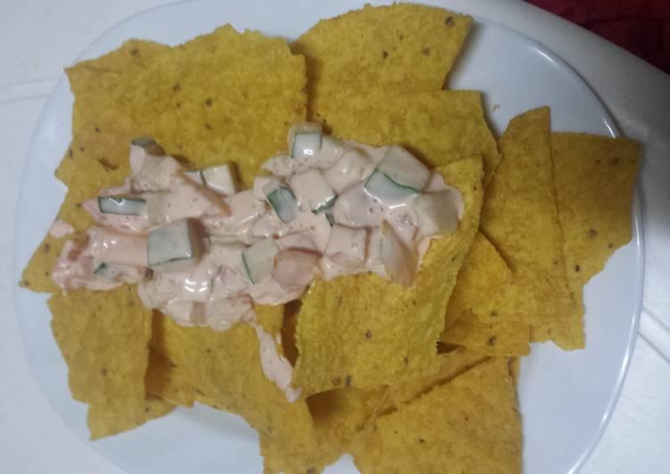 Healthy Nachos Dip