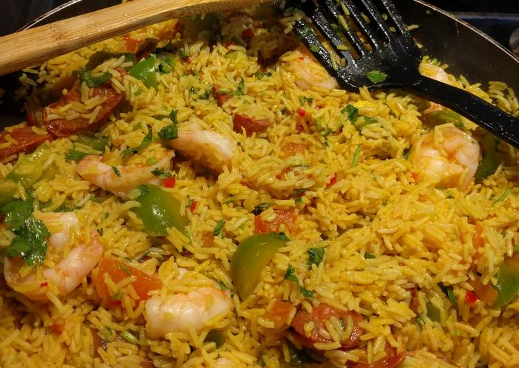 Recipe of Quick Fake Paella