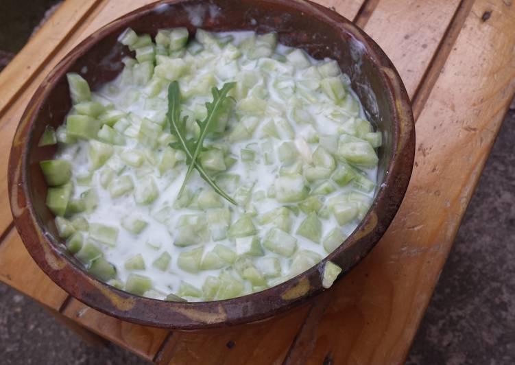 Recipe of Perfect Cucumber Salad