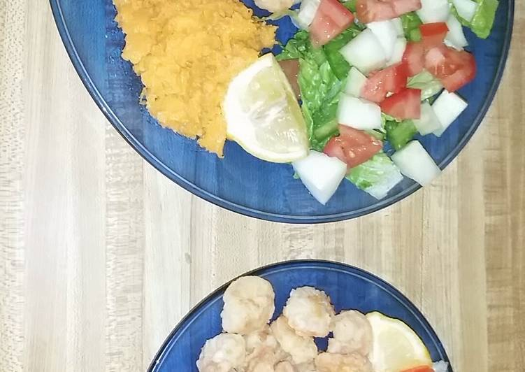 How to Prepare Tasty Simple fried shrimp