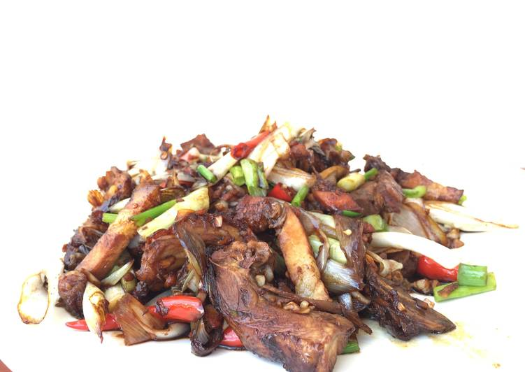 Living Greener for Greater Health By Consuming Superfoods Roasted Duck and Leeks