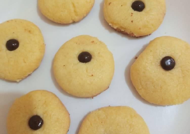 Cookies susu teflon