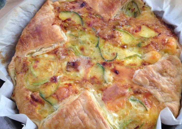 Steps to Prepare Super Quick Homemade Savory Cake- Torta Salata