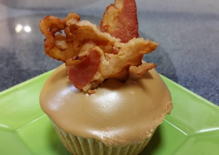 Recipe: Appetizing Maple Bacon Cupcakes