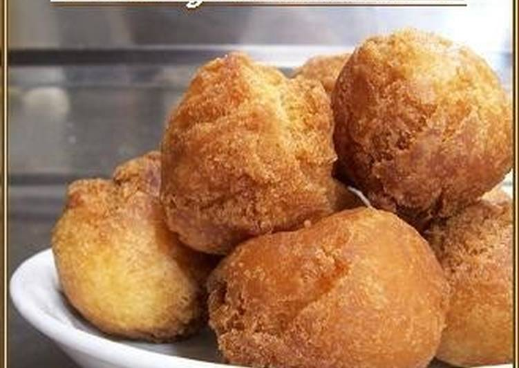 15 Minute Recipe of Ultimate Pancake Mix Fried Doughnuts