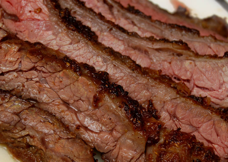 Recipe of Ultimate Spice-Crusted Skirt Steak