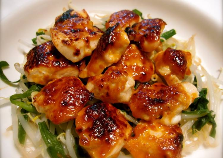 Spicy Baked Miso & Mayonnaise Chicken Breasts