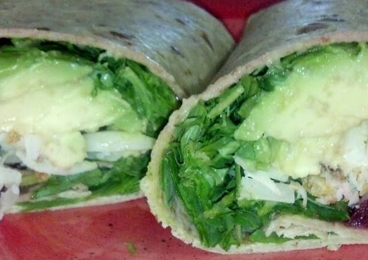 Avocado & Pickled Beet Wrap