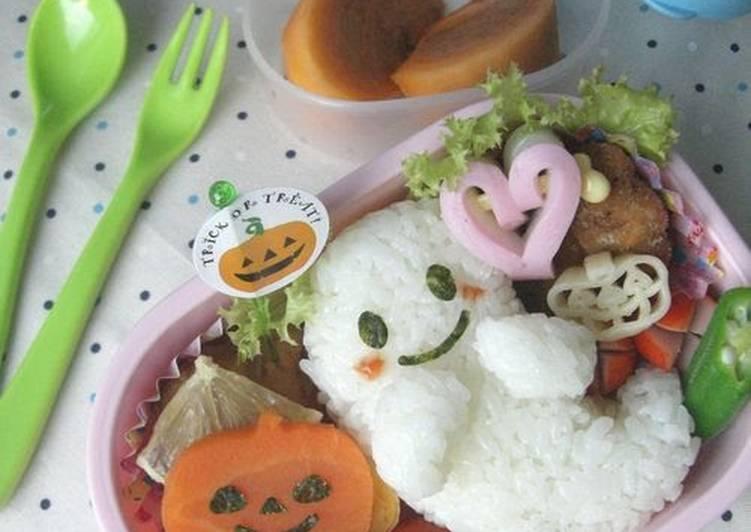 How to Make Tasty Halloween Character Bento