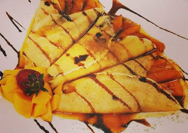 How to Make Any-night-of-the-week Mango Crepes