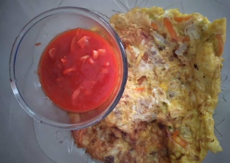 Telur sayur