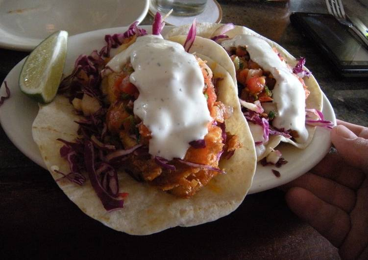Simple Way to Prepare Super Quick Homemade Fish Tacos