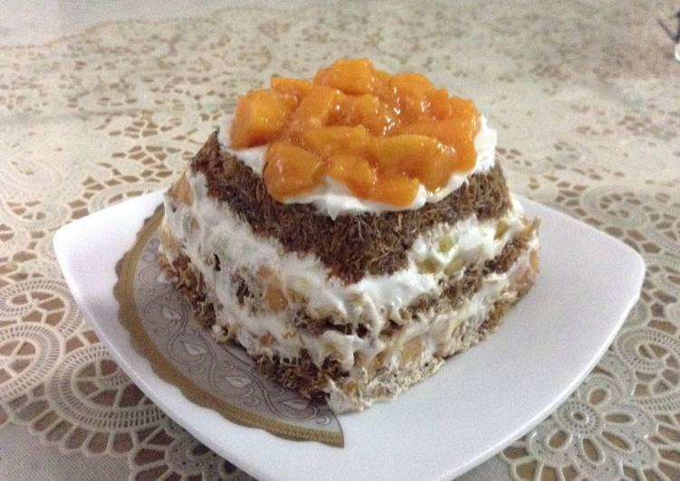 Konafa With Mango