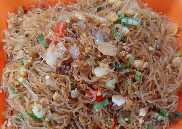 Resep Bihun goreng anak kost Paling Gampang