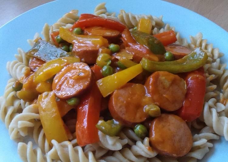 How to Prepare Homemade Vickys Creamy Chorizo Fusilli, GF DF EF SF NF