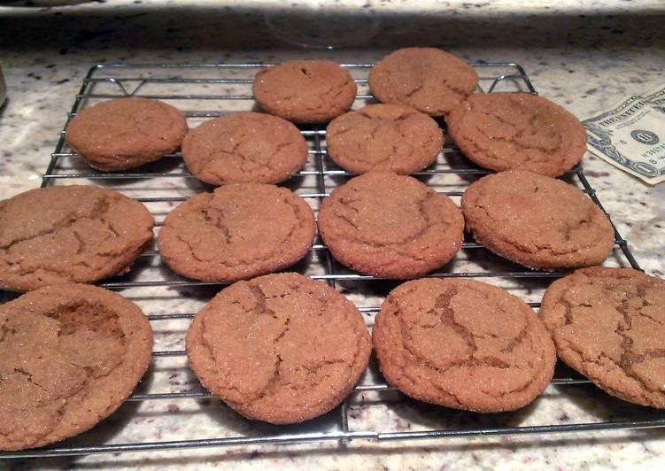 Recipe of Homemade Molasses Sugar Cookies
