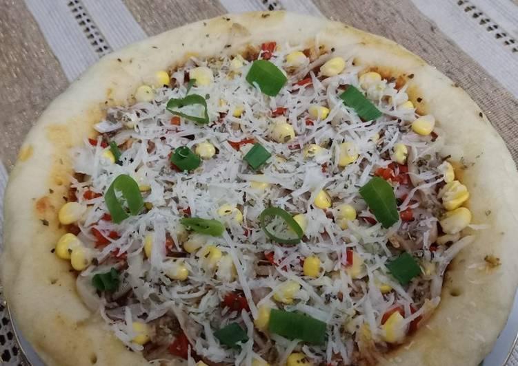 Bagaimana Menyiapkan Pizza Teflon Menul Empuk Lembutt Anti Gagal yang Lezat Sekali