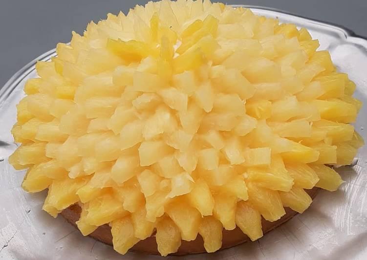 Tarte à l'ananas