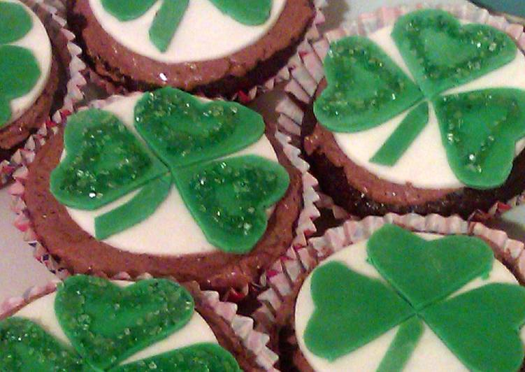 Recipe: Perfect Vickys St Patricks Day Guinness Cupcakes, GF DF EF SF NF