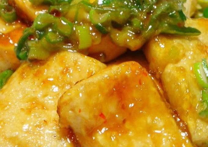 Recipe: Yummy Sweet, Spicy, Rich Tofu Steaks