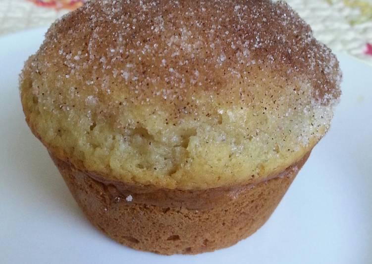 Cinnamon Sugar French Breakfast Muffins