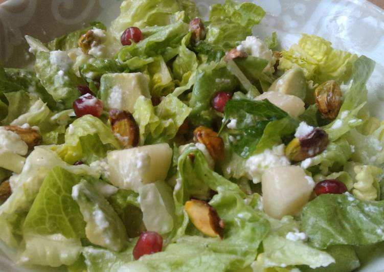 Vickys Pear & Pomegranate Salad, Gluten, Dairy, Egg & Soy-Free