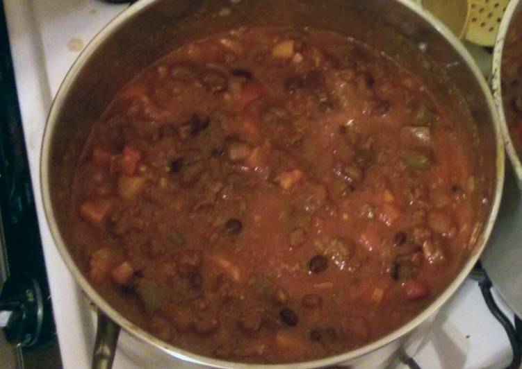 Venison chilli