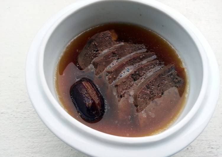 Tasty And Delicious of Pork Liver Soup