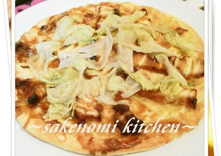 Steps to Prepare Perfect Chicken Teriyaki Pizza