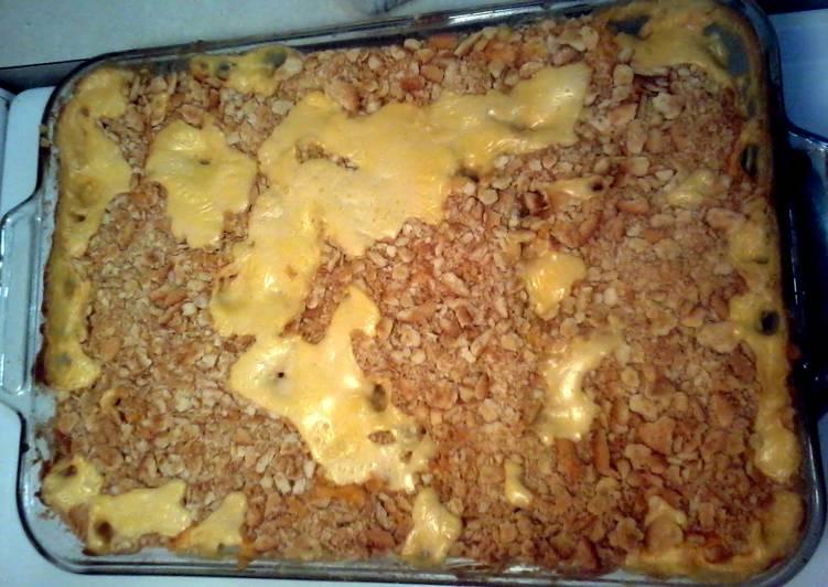 cheesy cream of chicken casserole