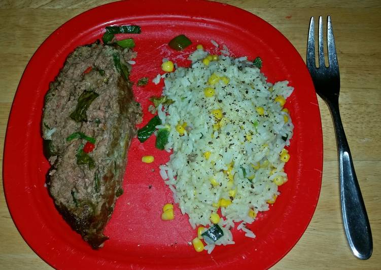 Recipe of Homemade Italian style meatloaf