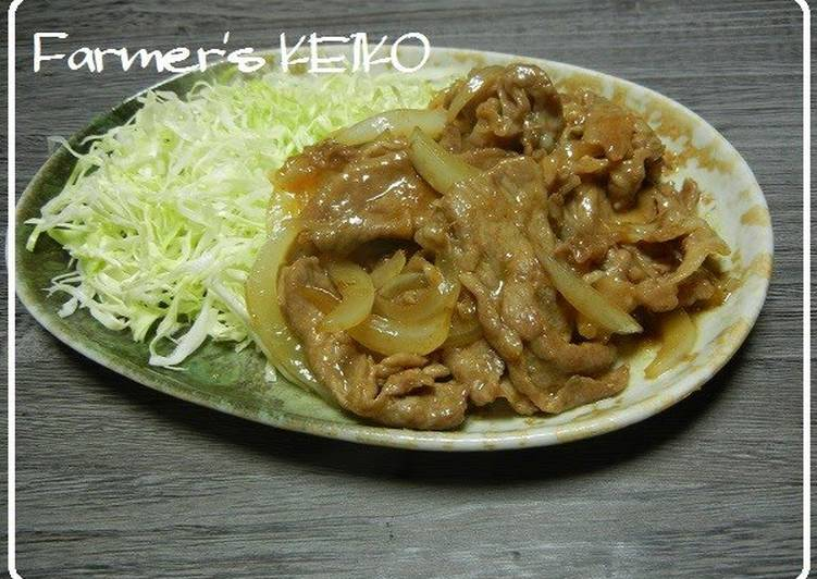 Your Overall Health Can Be Affected By The Foods You Choose To Consume Stir-fried Pork and Onion with Ginger