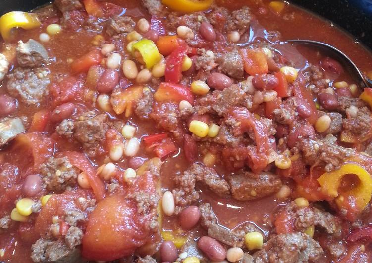 Recipe of Perfect Smokey Crock-pot Venison Chili