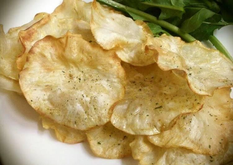 Celeriac Chips