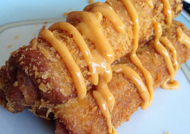 Deep-fried Hot-dog Rolls