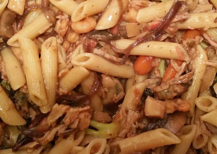 Seafood Mix Stir Fry/pasta