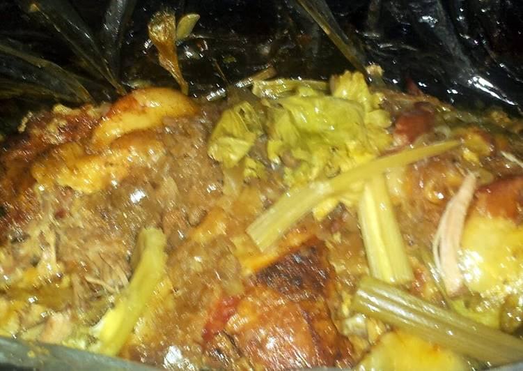 Grandmother's Dinner Ideas Vegan Cuban Pot Roast (similar to Mexican Carnitas)