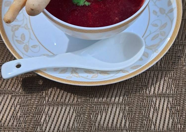 Healthy Beetroot Soup
