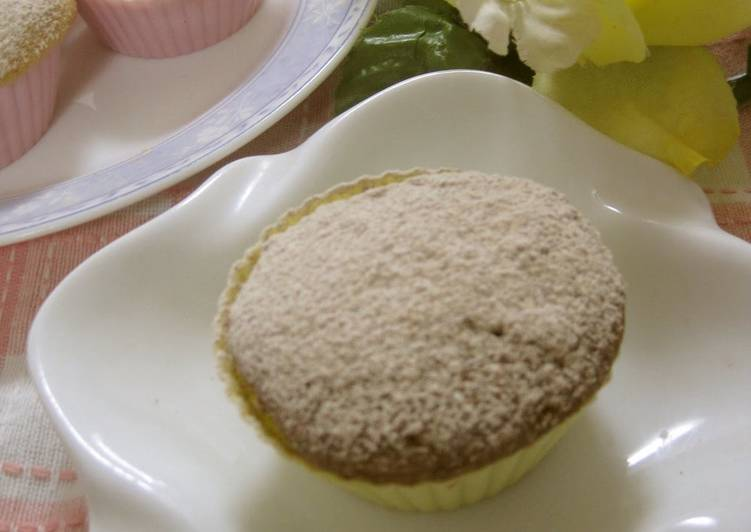 The Best Dinner Ideas Vegan Toasted Barley Flour (or Soybean Flour) Steamed Bread, Made in the Microwave