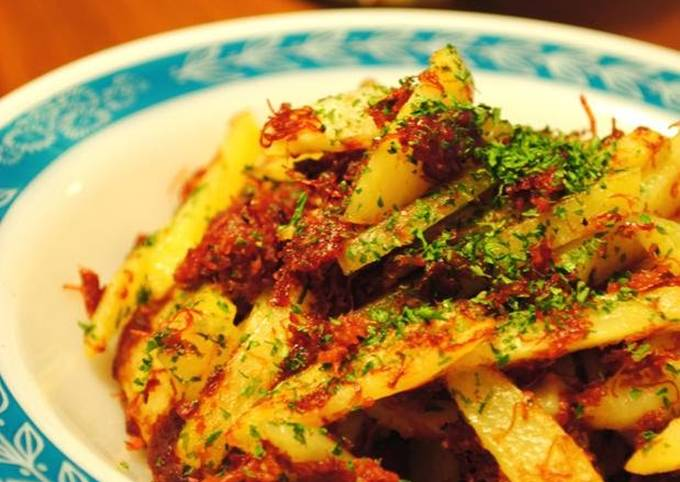 Potato & Corned Beef Spicy Stir-Fry