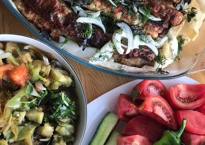 Хоровац (Овощной салат на костре)