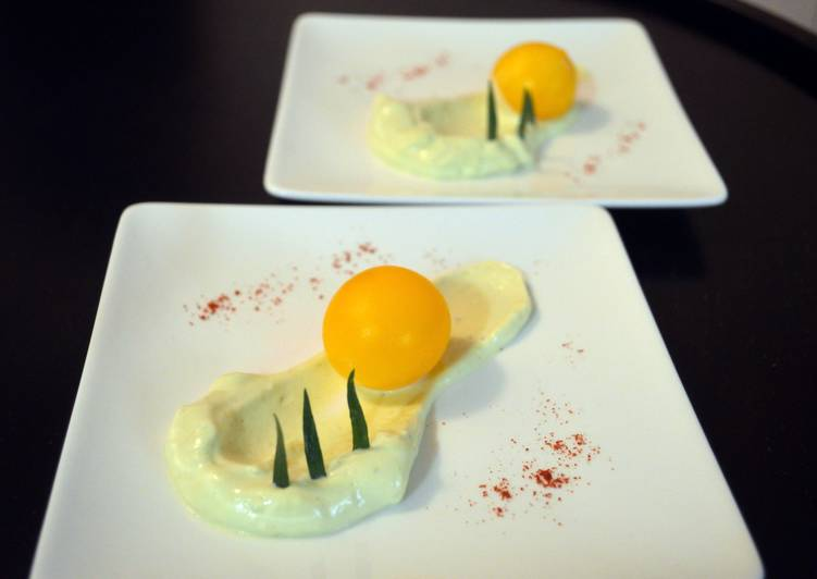 Inverted Deviled eggs