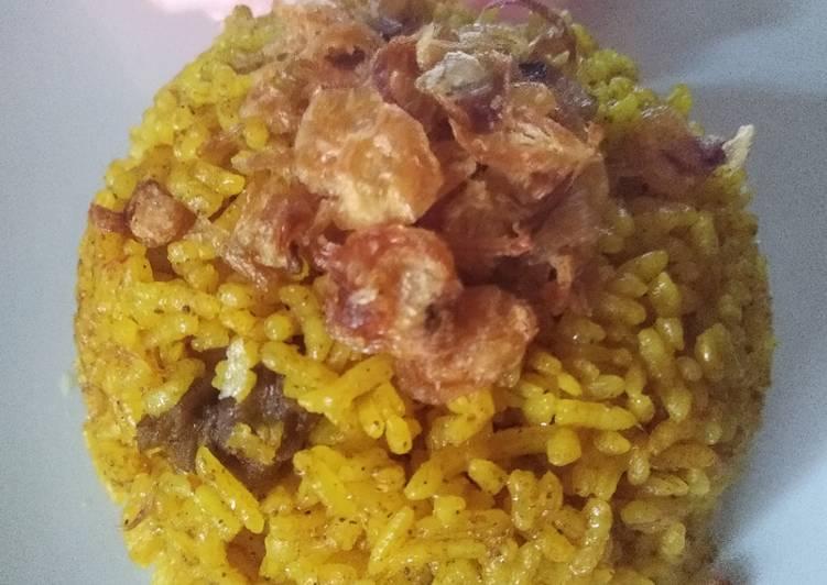 Resep Mudah Nasi Kebuli Sapi Magic Com Gampang Yummy Mantul