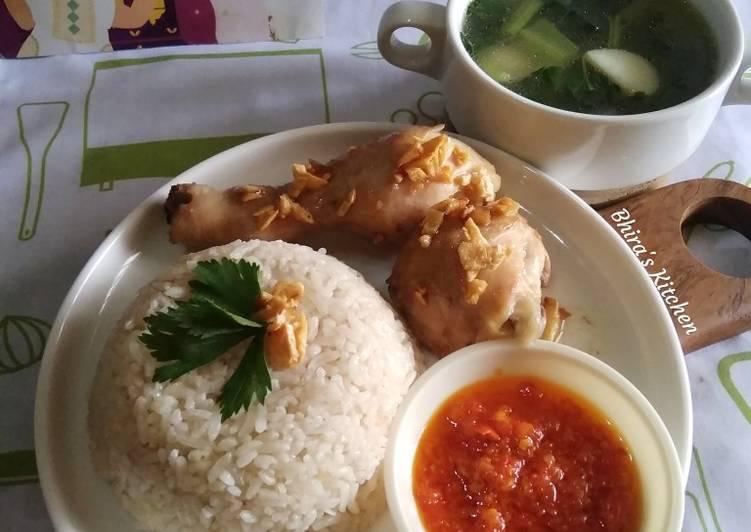 Nasi Ayam Hainam Enak Simpel Praktis