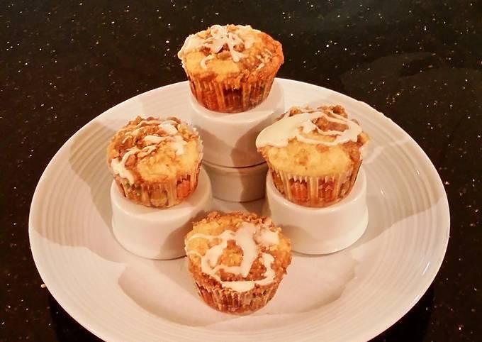 Apple Strusel Coffee Cake Muffins