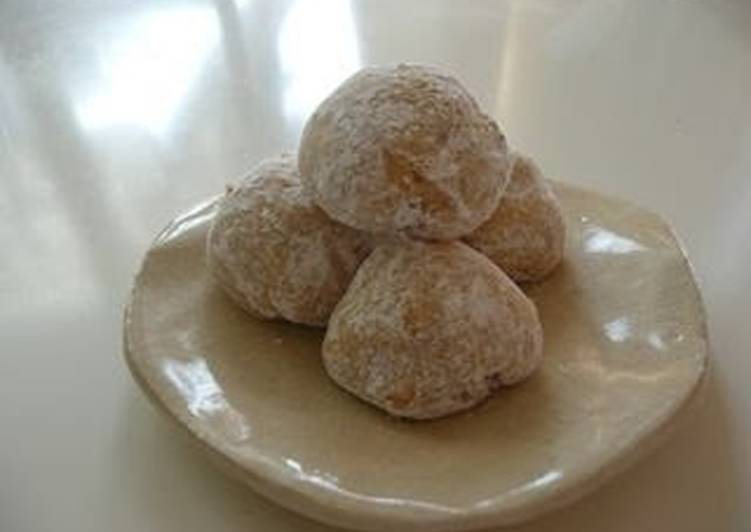 Easy Walnut Snowball Cookies - Just Like the Ones From a Famous Bakery!?